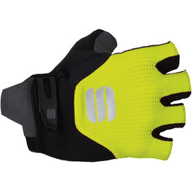 Sportful Neo Gloves yellow fluo/black